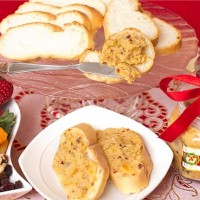 Queso de Bola and Mixed Dried Fruit Spread