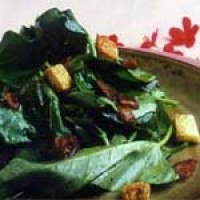 Warm Salad Greens with Purefoods Bacon
