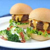 Stuffed Burger Sliders