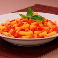 Penne and German Franks