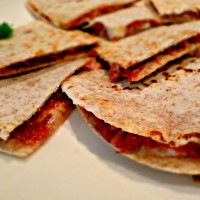 Cheesy Corned beef Quesadilla
