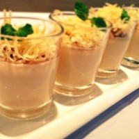 Edam Cheese Panna Cotta
