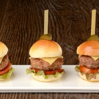 Mini Burgers on Sticks